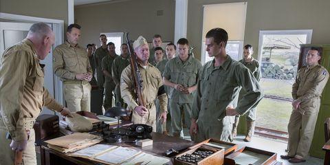 Table, Furniture, Job, Employment, Desk, Military uniform, Collection, Box,