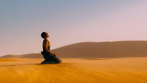 Desert, Erg, Sahara, Natural environment, Sand, Aeolian landform, Sky, Landscape, Ecoregion, Dune,