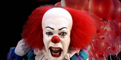 Lip, Mouth, Performing arts, Entertainment, Jaw, Clown, Tooth, Costume, Wig, Fictional character,