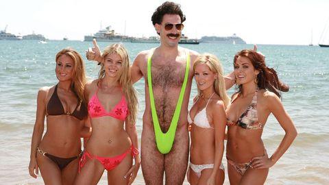 Bikini, Swimwear, Clothing, Undergarment, Lingerie, Swimsuit top, Fun, Vacation, Swimsuit bottom, Spring break,