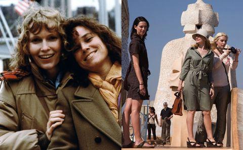 Human, Outerwear, Coat, Tourism, Jacket, Sun hat, Street fashion, Fashion, Travel, Feathered hair,