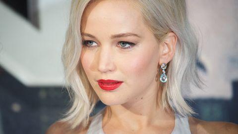hair, nose, earrings, lip, mouth, cheek, hairstyle, skin, chin, forehead,