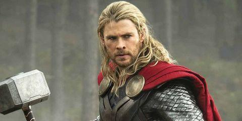 Facial hair, Beard, Thor, Fictional character, Movie, Superhero,