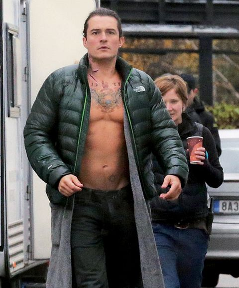 Jacket, Denim, Vehicle registration plate, Textile, Outerwear, Leather, Street fashion, Chest, Bumper, Leather jacket,