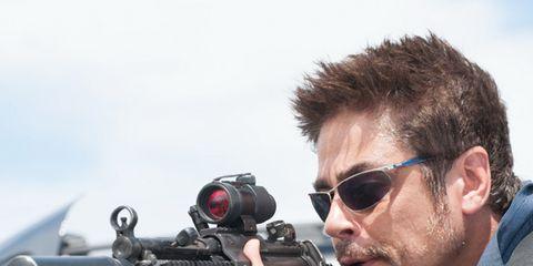Eyewear, Glasses, Vision care, Shooting, Firearm, Gun, Sunglasses, Machine gun, Goggles, Beard,