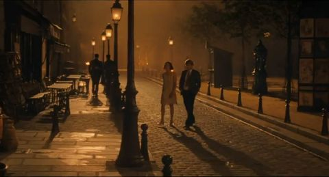 Evening, Atmospheric phenomenon, Pedestrian, Street light, Night, Street, Snow, Human, Shadow, Infrastructure,
