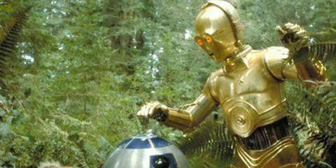 R2-d2, Fictional character, C-3po, Carnivore, Big cats, Lion, Machine, Felidae, Brass, Sculpture,