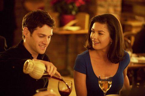 Smile, Drink, Stemware, Drinkware, Wine glass, Barware, Tableware, Happy, Glass, Alcoholic beverage,
