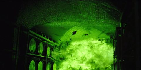 Green, Darkness,