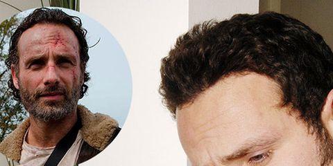 Nose, Ear, Hairstyle, Chin, Forehead, Eyebrow, Collar, Jaw, Beard, Facial hair,