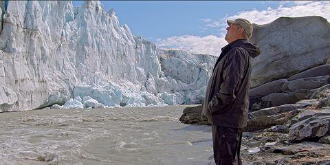 Glacial landform, Geological phenomenon, Mountain, Glacier, Mountain range, Ice, Fjord, Ice cap, Outerwear, Arctic,
