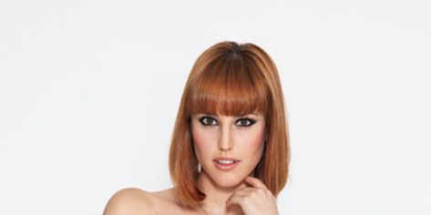 Hairstyle, Sleeve, Dress, Shoulder, Joint, One-piece garment, Bangs, Formal wear, Style, Waist,