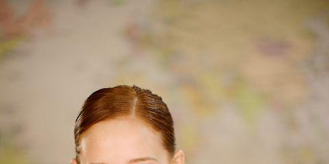 Ear, Happy, Elbow, Wrist, Thigh, Brown hair, Blond, Tooth, Thumb, Long hair,
