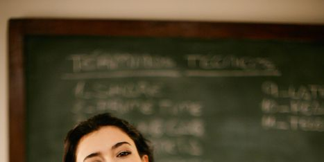 Display device, Elbow, Sitting, Blackboard, Wrist, Eyelash, Picture frame, Class, Classroom, Stool,