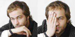 Hair, Nose, Lip, Cheek, Finger, Eye, People, Hairstyle, Facial hair, Skin,