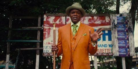 Hat, Coat, Collar, Outerwear, Formal wear, Dress shirt, Suit, Blazer, Costume accessory, Sun hat,