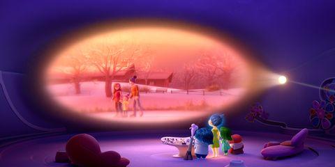Purple, Winter, Violet, Animation, Magenta, World, Snow, Freezing, Animated cartoon, Lens flare,