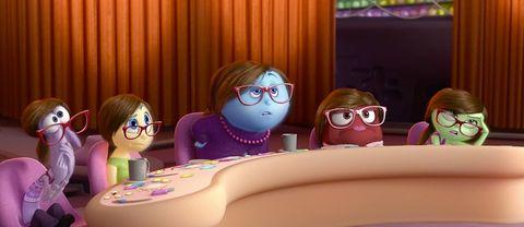 Eyewear, Glasses, Vision care, Fun, Pink, Purple, Goggles, Magenta, Animation, Violet,