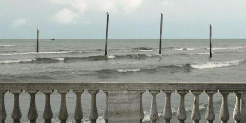 Sea, Shore, Water, Beach, Baluster, Ocean, Coast, Pier, Photography, Horizon,