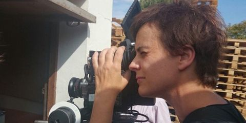 Hair, Cool, Camera operator, Photography, Human, Photographer, Cinematographer, Ear, Selfie, Camera,