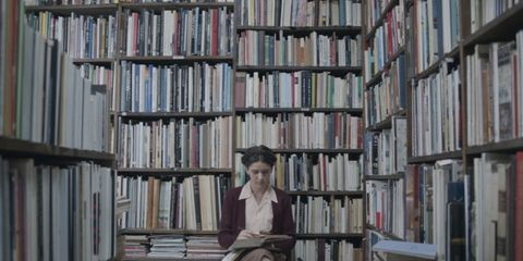 Library, Bookcase, Shelving, Shelf, Book, Bookselling, Publication, Public library, Building, Furniture,
