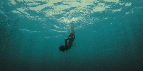 Fluid, Leisure, Underwater, Aqua, Liquid, Turquoise, Freediving, Teal, Underwater diving, Water sport,