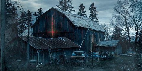 Wood, Tree, House, Rural area, Home, Roof, Shack, Hut, Log cabin, Village,