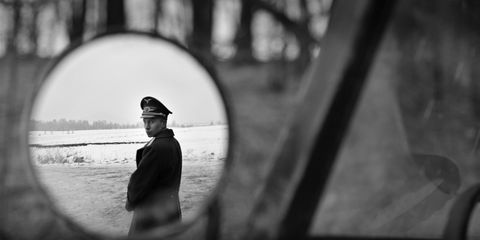 White, Black, Photograph, Black-and-white, Monochrome, Monochrome photography, Standing, Snapshot, Photography, Eye,
