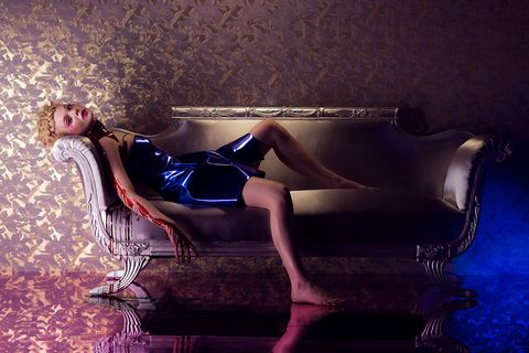 Human body, Purple, Electric blue, Model, High heels, Fashion model,