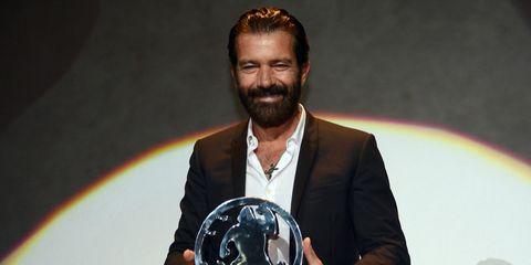 Facial hair, Beard, Moustache, Space, Rainbow, Trophy, Award, Astronomical object, Award ceremony, Planet,