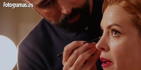 Face, Nose, Cheek, Chin, Skin, Lip, Beauty, Eyebrow, Mouth, Makeup artist,
