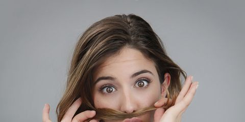 Lip, Finger, Hairstyle, Skin, Shoulder, Eyebrow, Eyelash, Hand, Wrist, Style,