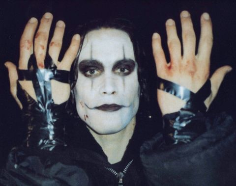 Finger, Hand, Gesture, Cool, Wrist, Thumb, Goth subculture, Painting, Sign language, Gothic fashion,