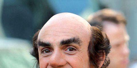 Cheek, Mouth, Skin, Eyebrow, Happy, Neck, Street fashion, Wool, Wrinkle, Facial hair,