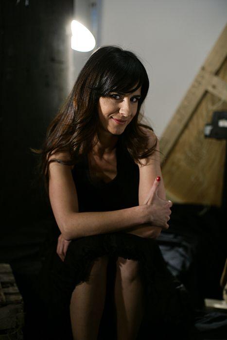 Sitting, Black hair, Beauty, Thigh, Long hair, Flash photography, Model, Photo shoot, Fashion model, Layered hair,
