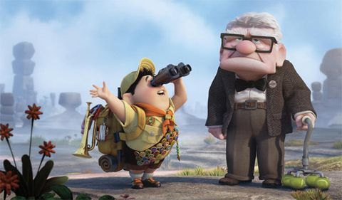 Animation, Animated cartoon, Cartoon, Fictional character, Goggles, Fruit, Produce, Fiction, Action figure, Toy,