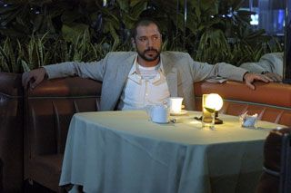 Tablecloth, Textile, Photograph, Furniture, Table, White, Linens, Sitting, Facial hair, Candle,