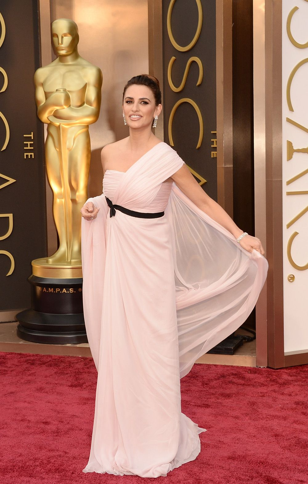 El glamour de la alfombra roja de los Oscar