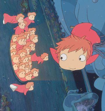 'Ponyo en el acantilado': 'La Sirenita' ecologista del Studio Ghibli