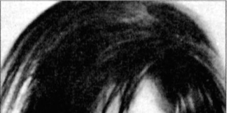 Nose, Lip, Cheek, Hairstyle, Chin, Forehead, Eyebrow, Black hair, Monochrome photography, Style,
