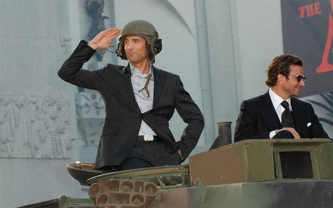 Helmet, Coat, Formal wear, Collar, Suit, Personal protective equipment, Dress shirt, Blazer, Employment, Job,