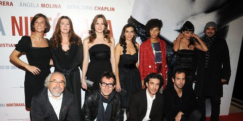 People, Trousers, Textile, Coat, Style, Dress, Carpet, Team, Fashion, Premiere,