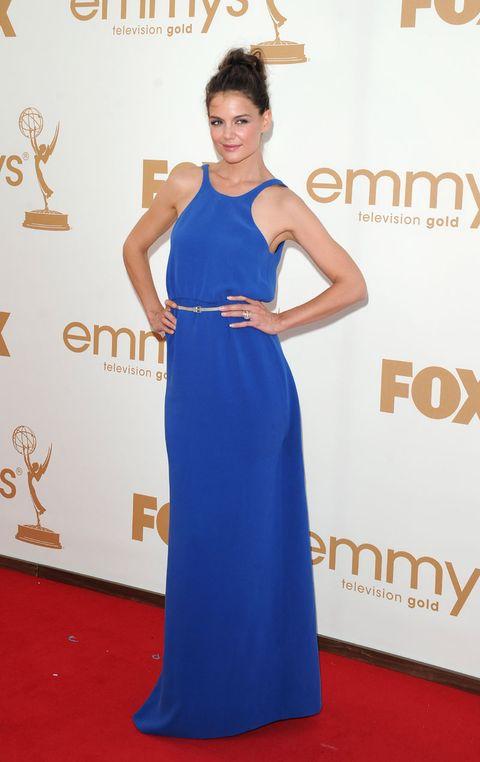 Blue, Dress, Flooring, Shoulder, Joint, Style, One-piece garment, Carpet, Formal wear, Premiere,