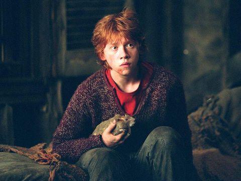 George Weasley desvela un misterio de Harry Potter