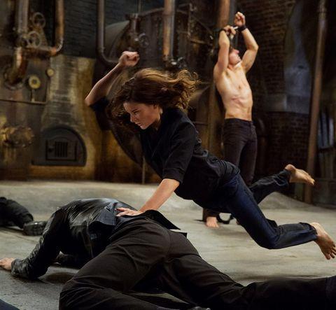 ¿Qué hace que sea bueno el montaje de una escena de acción?