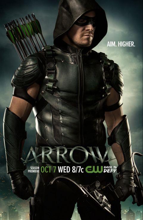 Arrow\': Stephen Amell protagoniza el nuevo póster de la cuarta temporada