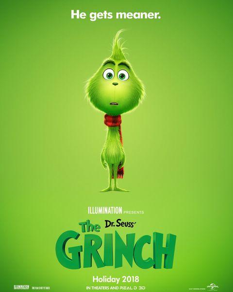 el nuevo póster de el grinch muestra al villano de pequeño