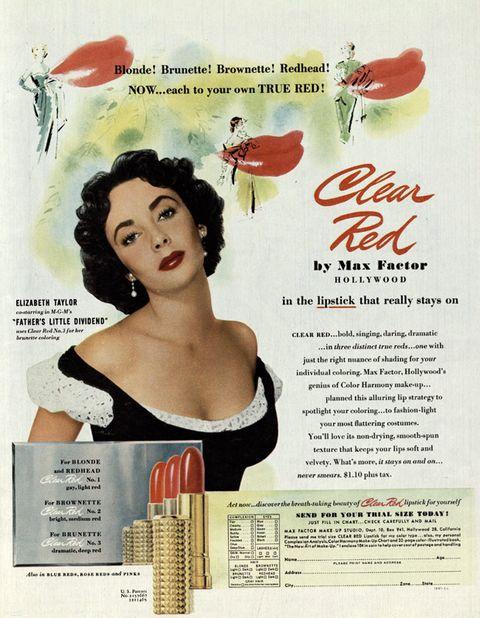 Lip, Red, Poster, Advertising, Vintage advertisement, Lipstick, Pollinator, Cosmetics, Hair care, Illustration,