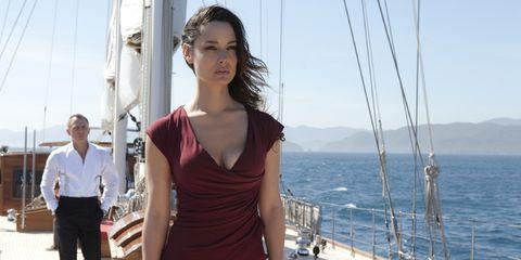 Shoulder, Watercraft, Boat, Dress, Vacation, Sailboat, Deck, Sea, Ship, Sailing,