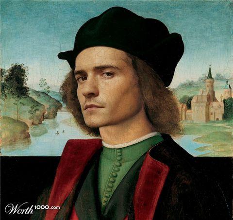 Painting, Portrait, Self-portrait, Art, Headgear, Illustration, Hat, Visual arts,